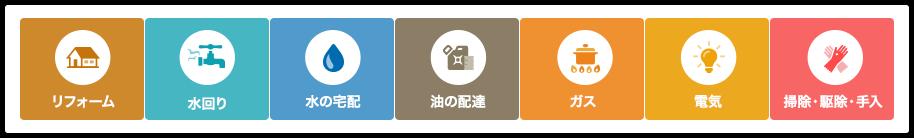 暮らしがイーナ|中島商事|滋賀で暮らしのお悩みを解決!